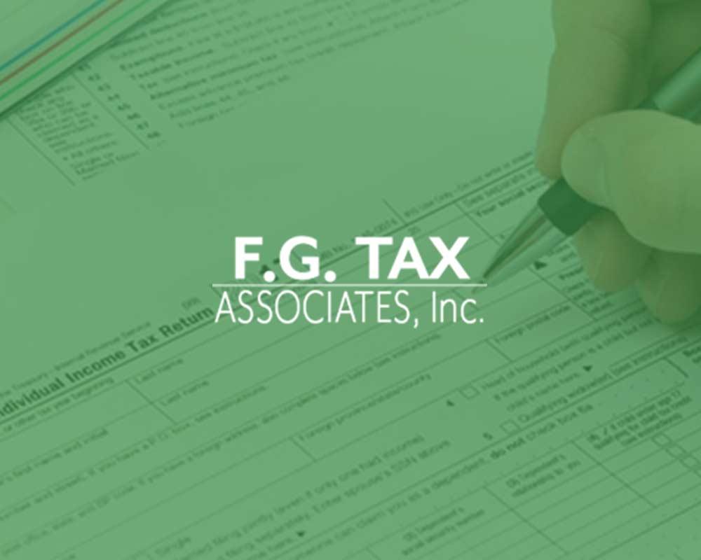 F.G. Tax Associates Logo