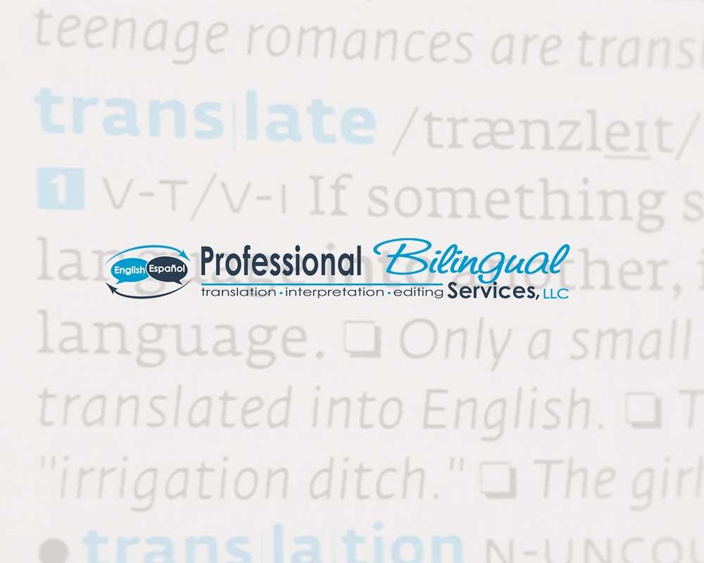 Professional Bilingual Services logo